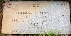 Inez J Sinnett