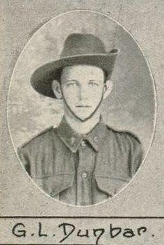 Private Gordon Leslie Dunbar