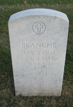 Blanche <I>Wollan</I> Dering
