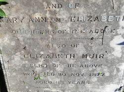 Elizabeth <I>Cantwell</I> Muir