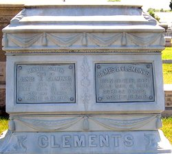 James F Clements