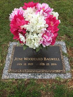 June <I>Woodyard</I> Bagwell