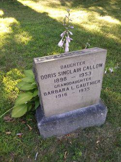 Doris Sinclair Callow