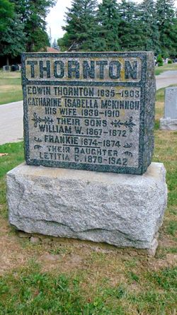 Catherine Isabella <I>McKinnon</I> Thornton