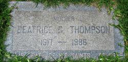 Beatrice G. Thompson