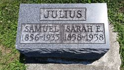 Sarah Elizabeth <I>Blackburn</I> Julius