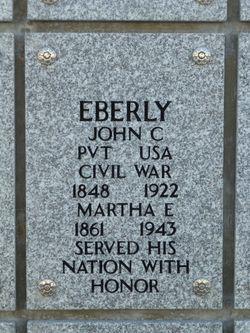 Dr John Cecil Eberly