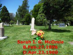 Sarah Irene <I>Green</I> McOmie