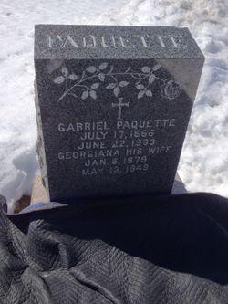 Georgiana <I>Cartier</I> Paquette