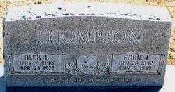 Annie L Thompson