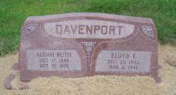 Aldah Ruth <I>Hutchison</I> Davenport