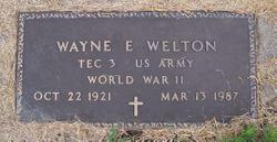 Wayne E Welton