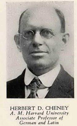 Herbert D. Cheney