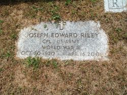 Joseph Edward Riley