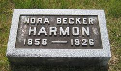 Nora <I>Becker</I> Harmon
