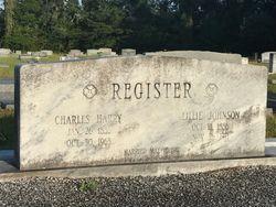 """Elder Charles Harry """"Charlie"""" Register"""