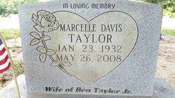 Marcelle <I>Davis</I> Taylor