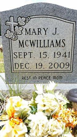 Mary <I>Jackson</I> McWilliams
