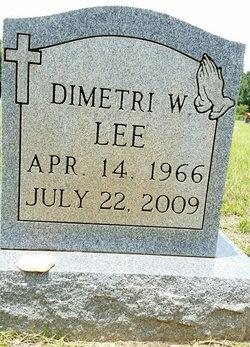 Dimetri W Lee