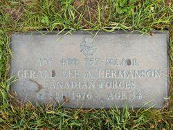 Maj Gerald Lee Allen Hermanson