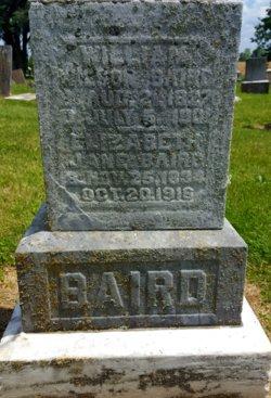Elizabeth Jane <I>Stephenson</I> Baird