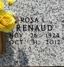 Rosa Lee <I>Vessells</I> Renaud