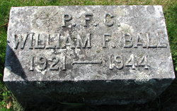 PFC William F Ball