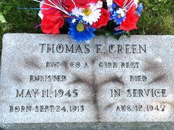 """Thomas Edward """"Tom"""" Creen"""