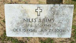 Niles A Sims