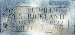 Mrs Lee Wille Strickland