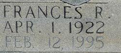 Frances P Cannon