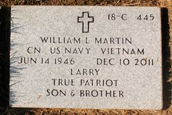 """William Lawrence """"Larry"""" Martin"""