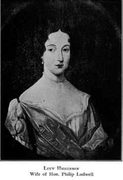 Lucy Tokesay <I>Higginson</I> Ludwell