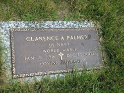 Clarence A Palmer