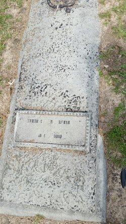 Herbert Howard Reese, Sr