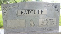 Lillie Mae Ratcliff