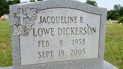 Jacqueline R <I>Lowe</I> Dickerson