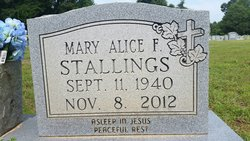 Mary Alice <I>Frizzle</I> Stallings