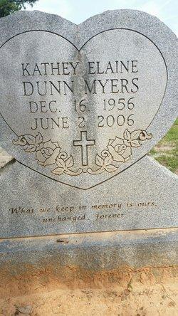 Kathey Elaine <I>Dunn</I> Myers