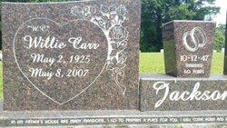 """Willie Carr """"W.C."""" Jackson"""
