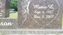 Mattie L Jackson