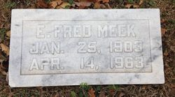 "Edgar Frederick ""Fred"" Meek"