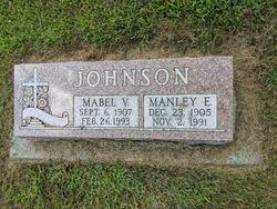 Mabel V <I>Martin</I> Johnson
