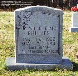 Willie Elmo Phillips, Sr