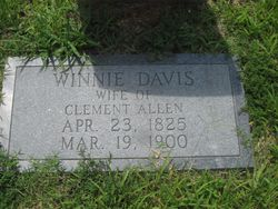 """Winnifred """"Winnie"""" <I>Davis</I> Allen"""