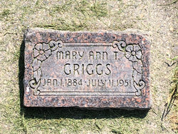 Mary Ann <I>Taylor</I> Griggs