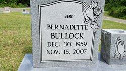 """Bernadette """"Bern"""" Bullock"""