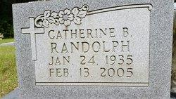 Catherine <I>Black</I> Randolph