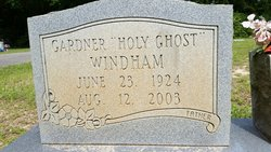 "Gardner ""Holy Ghost"" Windham"