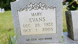 Mary <I>Mark</I> Evans